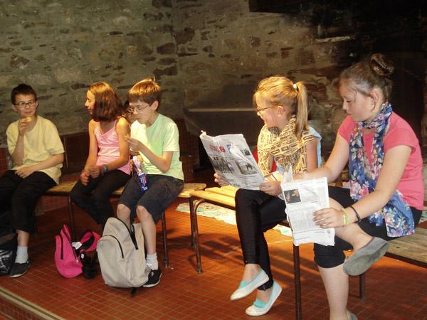 Théâtre enfants, compagnie Paq'la lune, CLO, Culture, loisirs, Orvault, activités, association