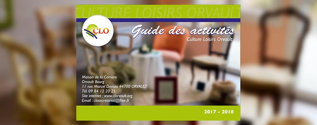 Culture Loisirs Orvault, Guide des activités 2017-2018