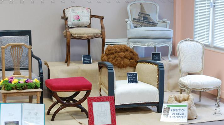 Culture Loisirs Orvault, CLO, Réfection de sièges, tapisserie